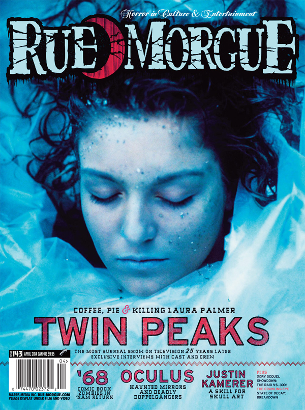 Rue Morgue #143 - Twin Peaks, written by Andy Burns